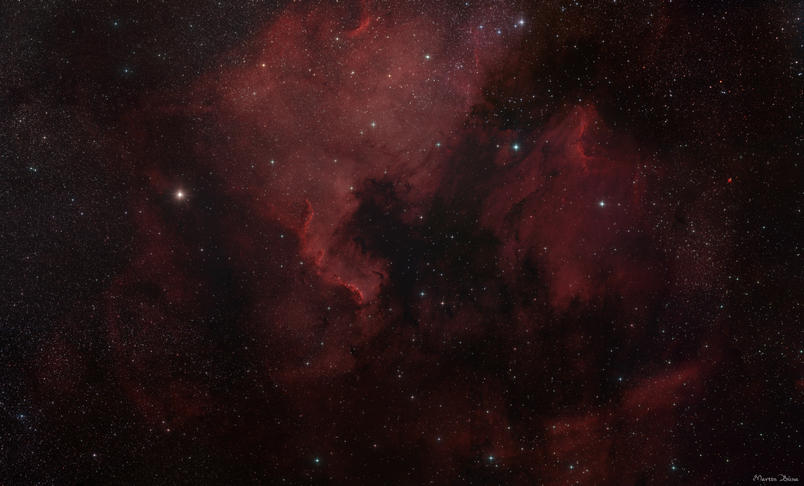 The North America and Pelican Nebula Mosaic
