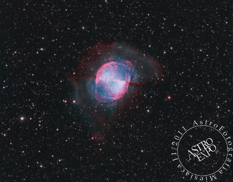 M27-Dumbbell Nebula